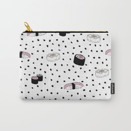 We love sushi pattern Carry-All Pouch