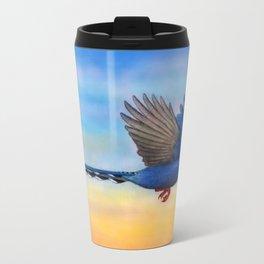 Taiwan Blue Magpies (2) Travel Mug