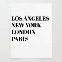 cities Poster