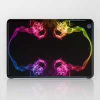 headphones iPad Cases featuring Headphones by Steve Purnell