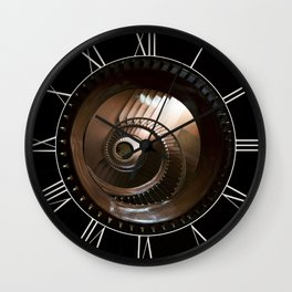 Chocolate stairs Wall Clock