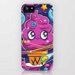 Sugar High: Cosmic Swirl iPhone Case