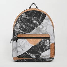 Marble Landscape I, Minimal Art Backpack