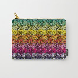 Escher FIsh Rainbow Pattern Carry-All Pouch