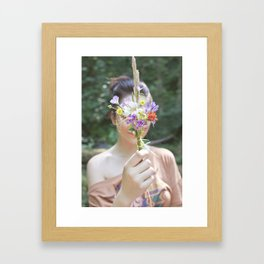 Wildflower/Wallflower Framed Art Print