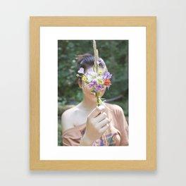 Wildflower/Wallflower Framed Art Print