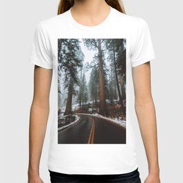 Foggy Forest Wanderlust T-shirt