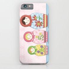 Matryoshka Sisters iPhone 6s Slim Case