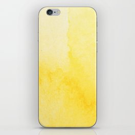 Sunshine Watercolor iPhone Skin