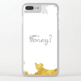 Continental Cash Clear iPhone Case