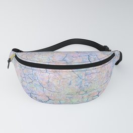 She Talks to Rainbows // Unicorn color dusted rock Fanny Pack