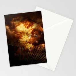 Firestorm Stationery Cards