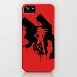 Asuka (Eva Unit-02) iPhone Case