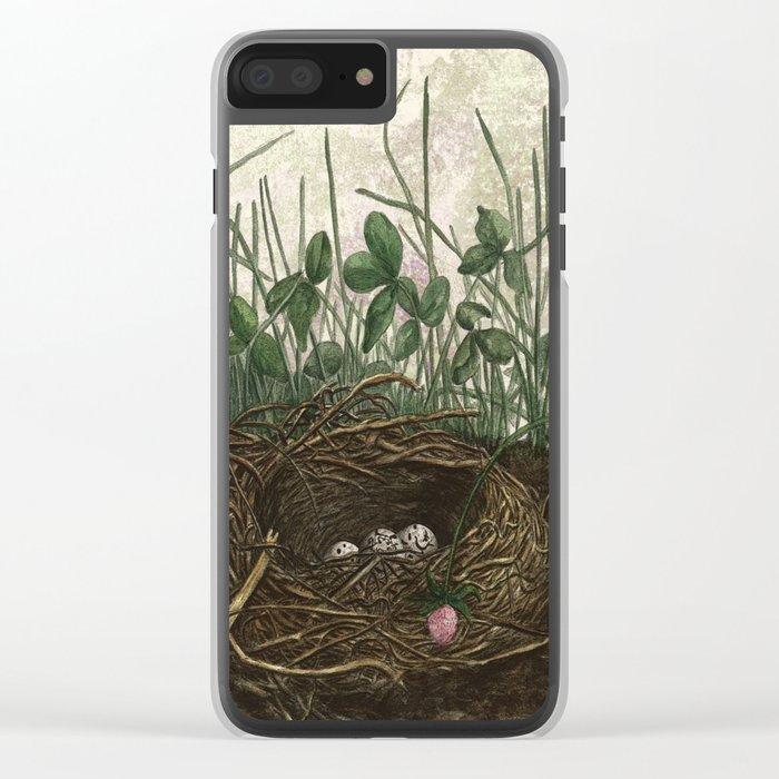 Oh! Mrs Jones! Clear iPhone Case