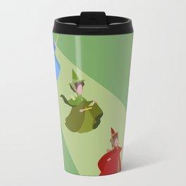 3 Fairies (Green) Travel Mug