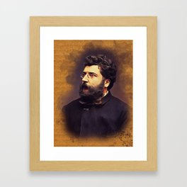Georges Bizet, Music Legend Framed Art Print
