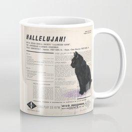 His Master's Voice - Cat Coffee Mug