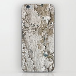 White Decay III iPhone Skin