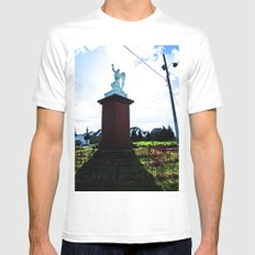 Oh glory! Mens Fitted Tee MEDIUM White