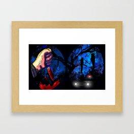 Slasher - Pov Framed Art Print