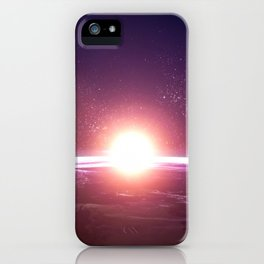 Earth from Space iPhone Case