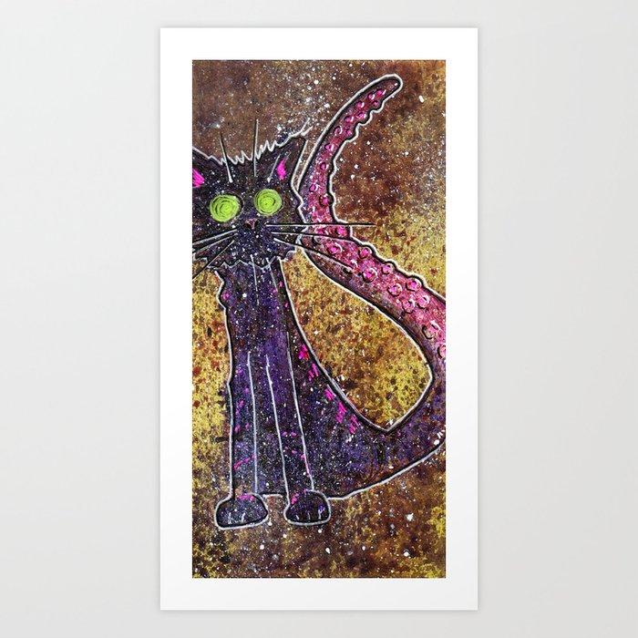 Spliced Art Print