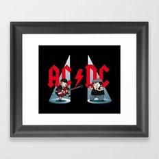 ACDC Framed Art Print