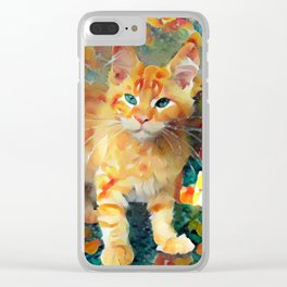 Hey Pumpkin Clear iPhone Case