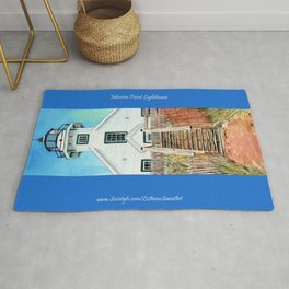 Mission Point Lighthouse Rug