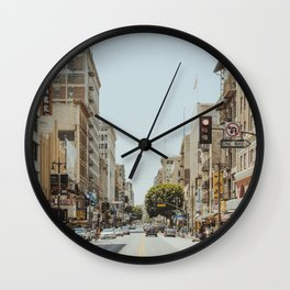 Downtown Los Angeles VI Wall Clock