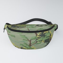 Paint by Number woodland path Fanny Pack