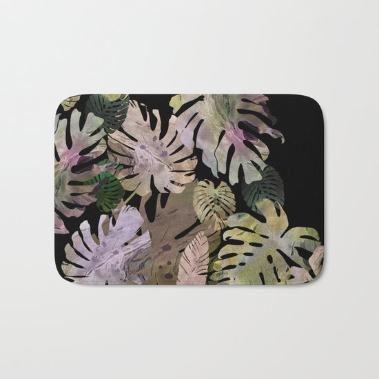 tropical in the nigth Bath Mat