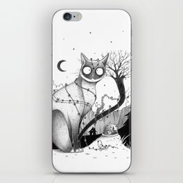 It's Christmas time... even if it's not! iPhone Skin
