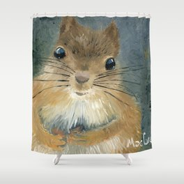 Last Nut for my Squirrel Shower Curtain