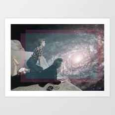 for the dreamers Art Print