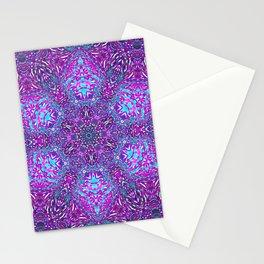 Pink, Purple, and Blue Mandala Stationery Cards