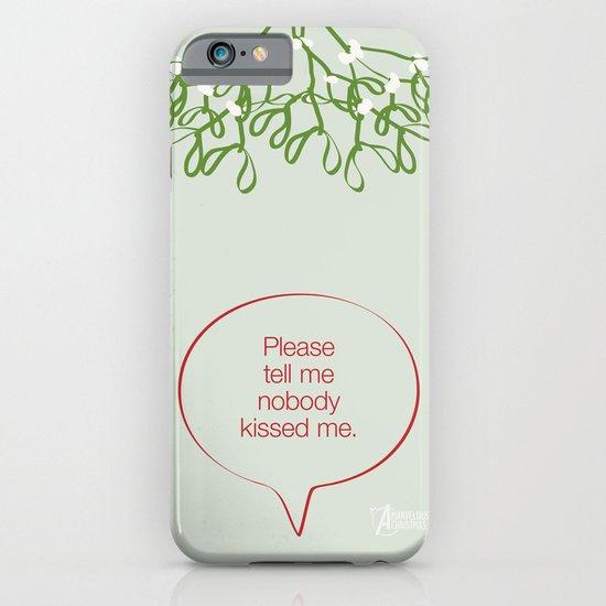 Under the mistletoe iPhone & iPod Case