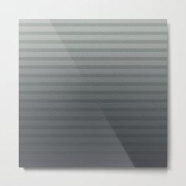 Neutral Stripes Metal Print