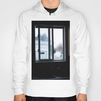 window Hoodies featuring Window by RMK Photography