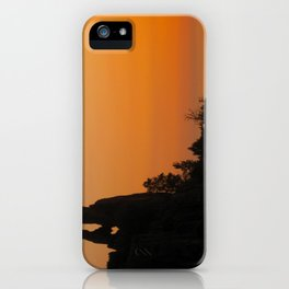 Corsican Sunset iPhone Case
