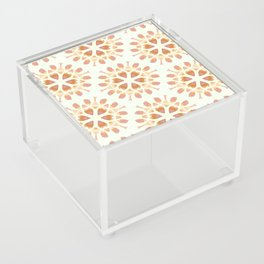 Gold snowflake pattern Acrylic Box