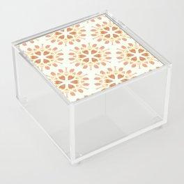 Gold mandala  pattern Acrylic Box