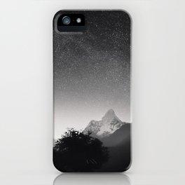 Himalayas at Night iPhone Case