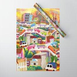 La Finikera (Phoenix) Wrapping Paper