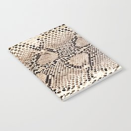 Snake skin art print Notebook