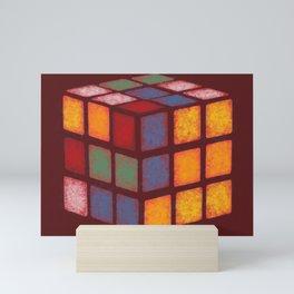 The Painted Cube Mini Art Print