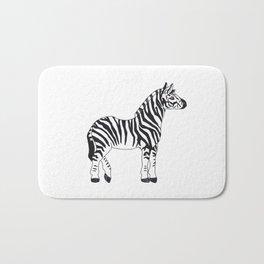 Zebra Stan Bath Mat