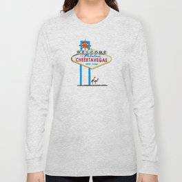 Welcome to Cheektavegas Long Sleeve T-shirt