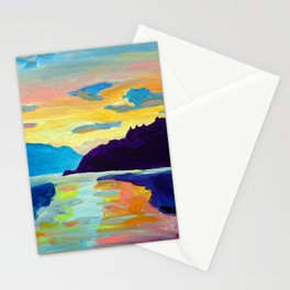 Crossing Lake Okanagan Stationery Cards