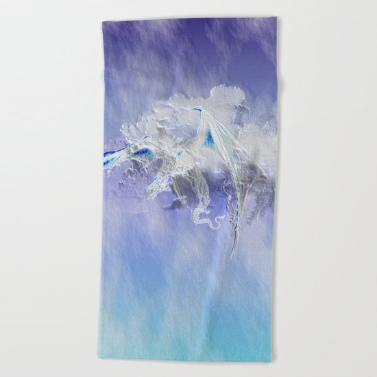 Sky Dragon Beach Towel